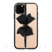 【iPhone11 Pro Max ケース】Impact Case (Black Bow/Black)