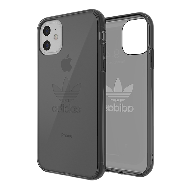 【iPhone11/XR ケース】Protective Clear Case Big Logo FW19 (Smokey Black)サブ画像