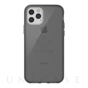 【iPhone11 Pro ケース】Protective Clear Case Big Logo FW19 (Smokey Black)