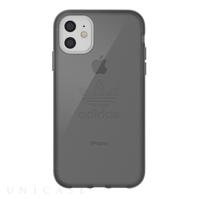 【iPhone11/XR ケース】Protective Clear Case Big Logo FW19 (Smokey Black)