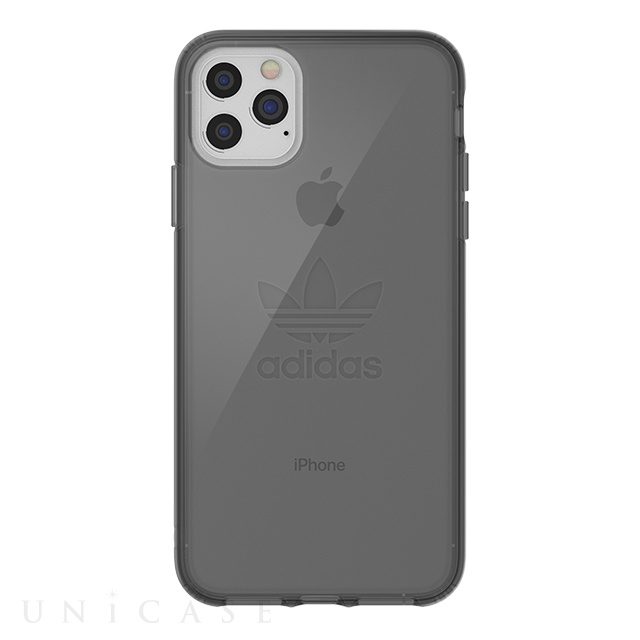 【iPhone11 Pro Max ケース】Protective Clear Case Big Logo FW19 (Smokey Black)