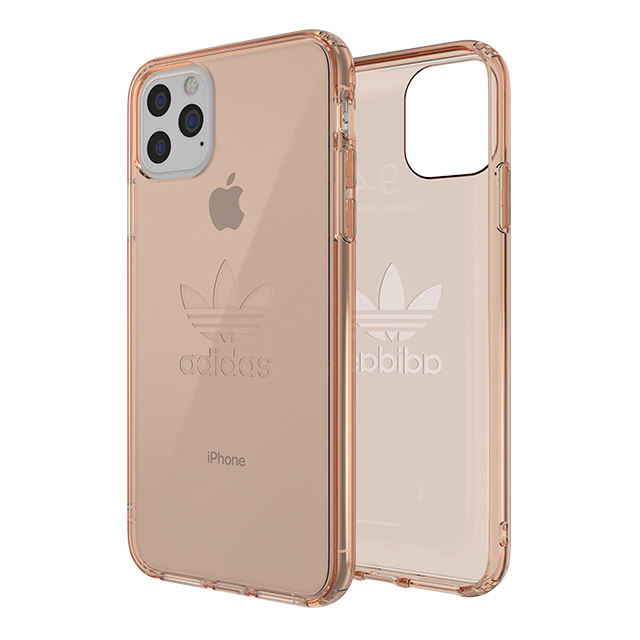【iPhone11 Pro Max ケース】Protective Clear Case Big Logo FW19 (Rose)サブ画像