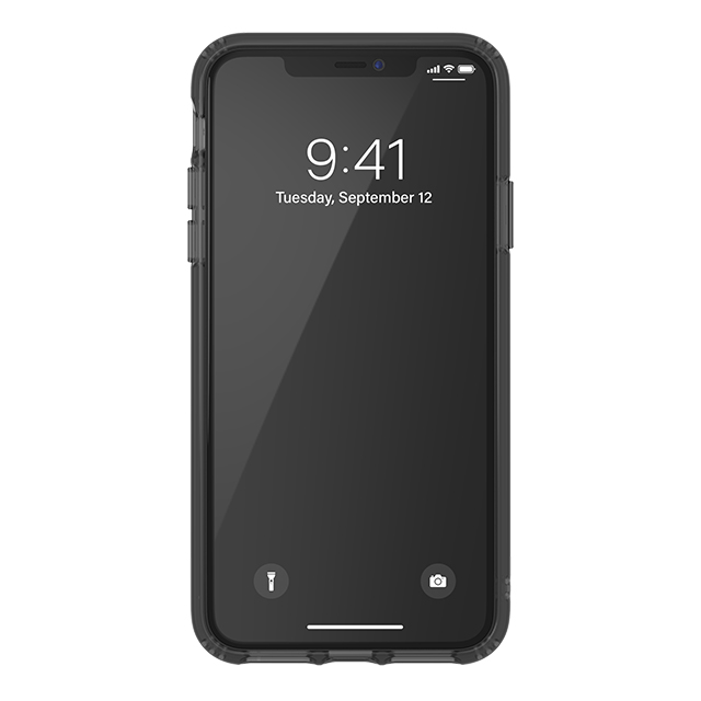 【iPhone11 Pro Max ケース】Protective Clear Case Big Logo FW19 (Smokey Black)サブ画像