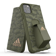 【iPhone11 Pro Max ケース】Folio Grip Case CAMO FW19 (Tech olive)