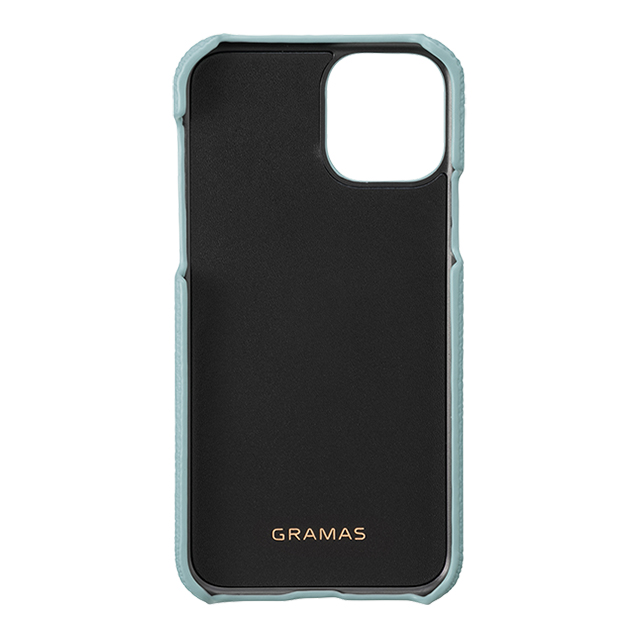 【iPhone11 Pro ケース】Shrunken-Calf Leather Shell Case (Baby Blue)サブ画像