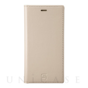 【iPhone11 Pro/XS/X ケース】Genuine Leather Book Case (Ivory)