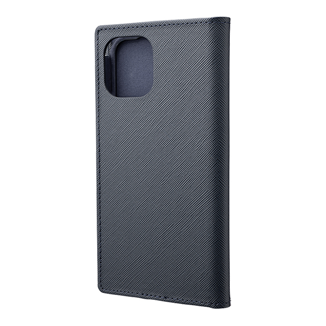 "【iPhone11 Pro/XS/X ケース】""EURO Passione"" PU Leather Book Case (Navy)サブ画像"