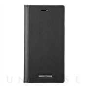 "【iPhone11 Pro/XS/X ケース】""EURO Passione"" PU Leather Book Case (Black)"