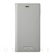 "【iPhone11 Pro/XS/X ケース】""EURO Passione"" PU Leather Book Case (Gray)"