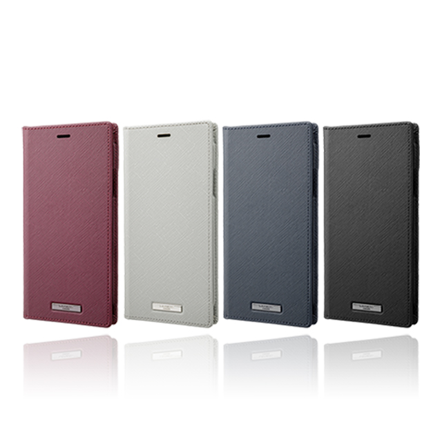 "【iPhone11 Pro Max/XS Max  ケース】""EURO Passione"" PU Leather Book Case (Gray)サブ画像"