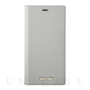 "【iPhone11 Pro Max/XS Max  ケース】""EURO Passione"" PU Leather Book Case (Gray)"