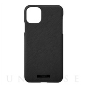 "【iPhone11 Pro Max ケース】""EURO Passione"" PU Leather Shell Case (Black)"