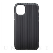 "【iPhone11/XR ケース】""Rib"" Hybrid Shell Case (Black)"