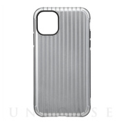 "【iPhone11/XR ケース】""Rib"" Hybrid Shell Case (Gray)"