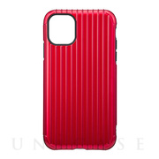 "【iPhone11/XR ケース】""Rib"" Hybrid Shell Case (Red)"