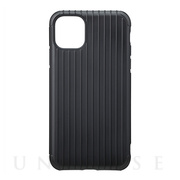 "【iPhone11 Pro Max ケース】""Rib"" Hybrid Shell Case (Black)"