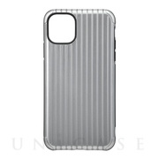 "【iPhone11 Pro Max ケース】""Rib"" Hybrid Shell Case (Gray)"