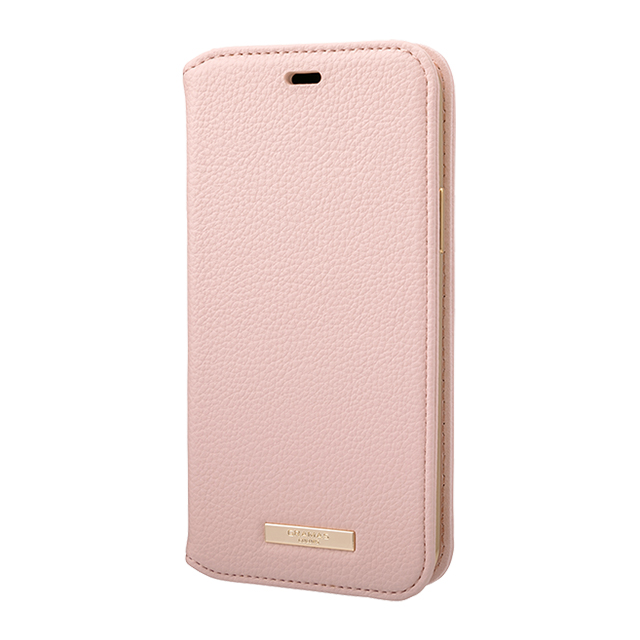 "【iPhone11 Pro ケース】""Shrink"" PU Leather Book Case (Pink)サブ画像"