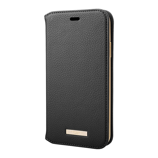 "【iPhone11 ケース】""Shrink"" PU Leather Book Case (Black)サブ画像"