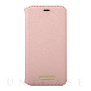 "【iPhone11 Pro ケース】""Shrink"" PU Leather Book Case (Pink)"