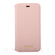 "【iPhone11/XR ケース】""Shrink"" PU Leather Book Case (Pink)"