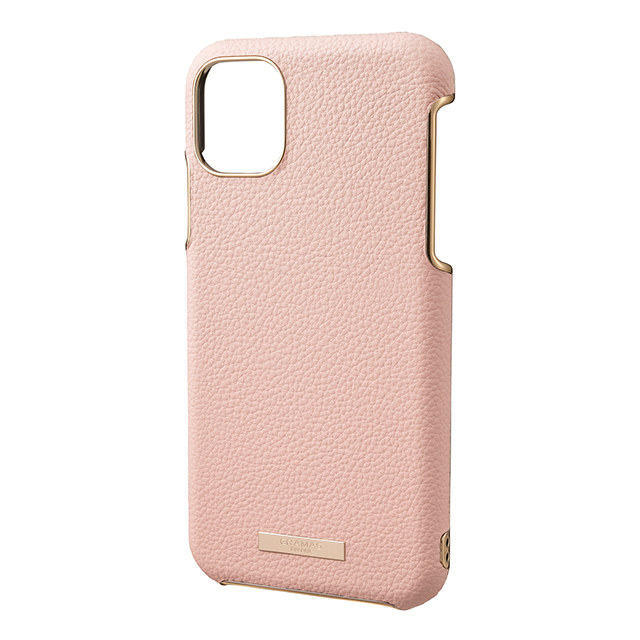 "【iPhone11 Pro ケース】""Shrink"" PU Leather Shell Case (Pink)サブ画像"