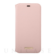 "【iPhone11 Pro Max ケース】""Shrink"" PU Leather Book Case (Pink)"