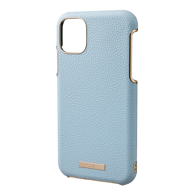 "【iPhone11 ケース】""Shrink"" PU Leather Shell Case (Light Blue)サブ画像"