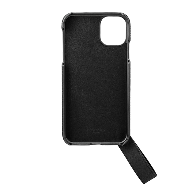 "【iPhone11/XR ケース】""TAIL"" PU Leather Shell Case (Black)サブ画像"