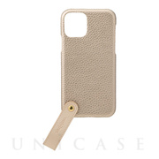 "【iPhone11 Pro ケース】""TAIL"" PU Leather Shell Case (Gold)"