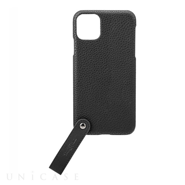 "【iPhone11 Pro Max ケース】""TAIL"" PU Leather Shell Case (Black)"