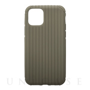 "【iPhone11 Pro ケース】""Rib Light"" TPU Shell Case (Gray Khaki)"