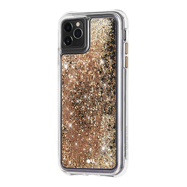 【iPhone11 Pro ケース】Waterfall (Gold)