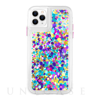 【iPhone 11 Pro Maxケース】Waterfall (Confetti)