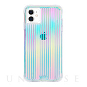 【iPhone11/XR ケース】Tough (Iridescent)