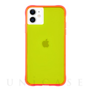 【iPhone11/XR ケース】Tough Neon (Gre...
