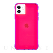 【iPhone11 ケース】Tough Neon (Pink/Purple)