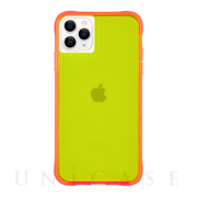 【iPhone11 Pro Max ケース】Tough Neon (Green/Pink)