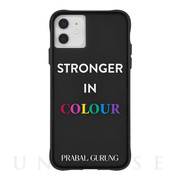 【iPhone11/XR ケース】PRABAL GURUNG (Stronger in Colour)