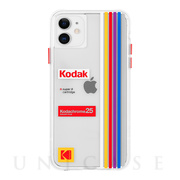 【iPhone11 ケース】Kodak (Clear Striped)