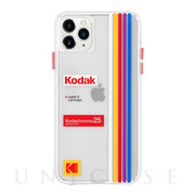 【iPhone11 Pro Max ケース】Kodak (Clear Striped)