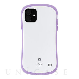 【iPhone11 ケース】iFace First Class Pastelケース (ホワイト/パープル)