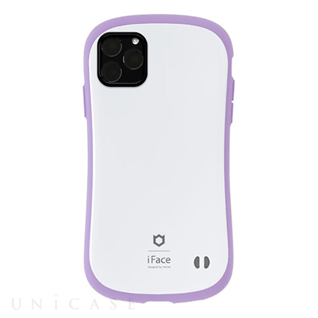 【iPhone11 Pro Max ケース】iFace First Class Pastelケース (ホワイト/パープル)