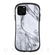 【iPhone11 Pro ケース】iFace First Class Marbleケース (ホワイト)