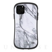 【iPhone11 Pro Max ケース】iFace First Class Marbleケース (ホワイト)