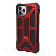 【iPhone11 Pro ケース】UAG Monarch Case (Crimson)