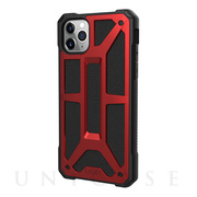 【iPhone11 Pro Max ケース】UAG Monarch Case (Crimson)