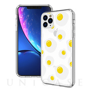 【iPhone11 Pro Max ケース】Hybrid Cushion Graphics Case (Poached Egg)