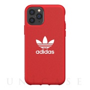 【iPhone11 Pro ケース】adicolor Moulded Case  FW19 (Scarlet)
