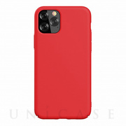 【iPhone11 Pro ケース】Nature Series Silicone Case (red)
